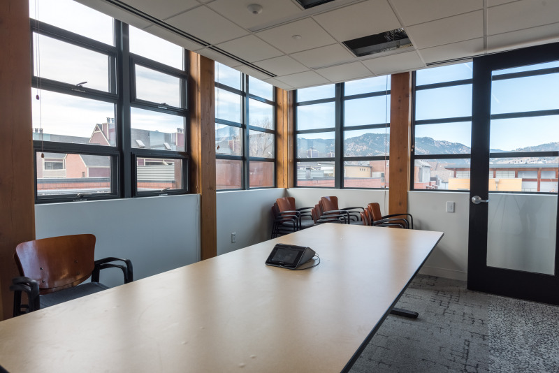Meeting space with views at the Nature Conservancy