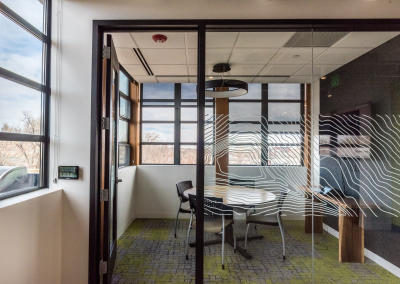 Office space at the Nature Conservancy