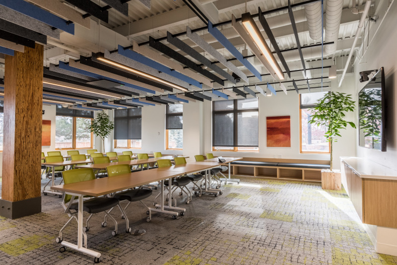 Large meeting area at Nature Conservancy