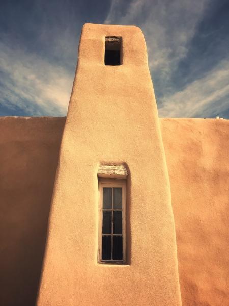 New Mexico - Adobe church