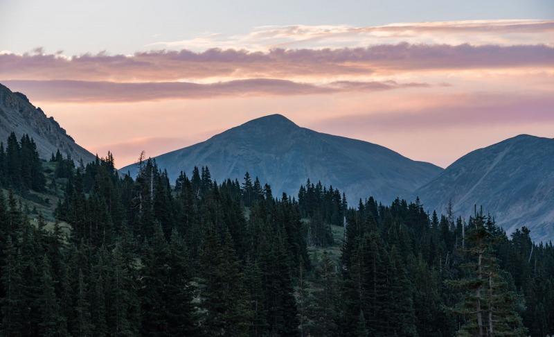 Colorado - Sunrise at Mt. Sherman