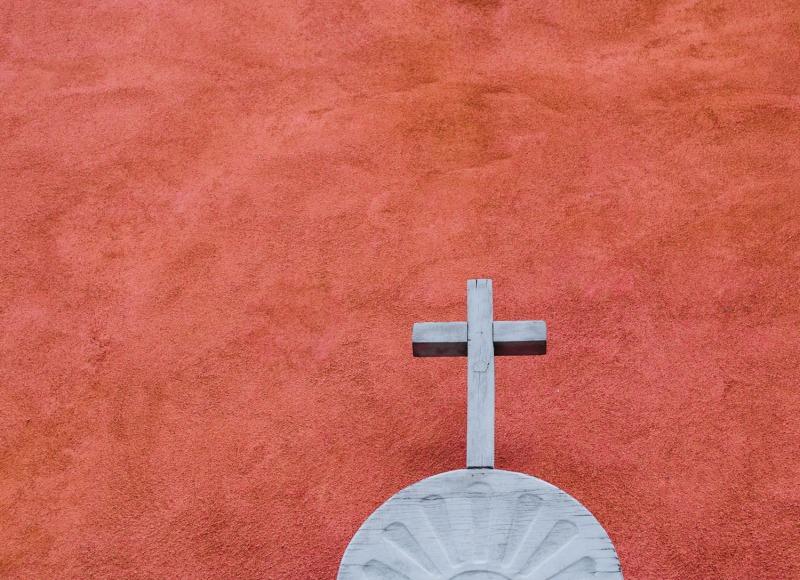 New Mexico - White cross