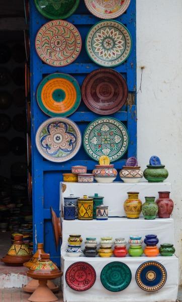 Morocco - Essaouira market