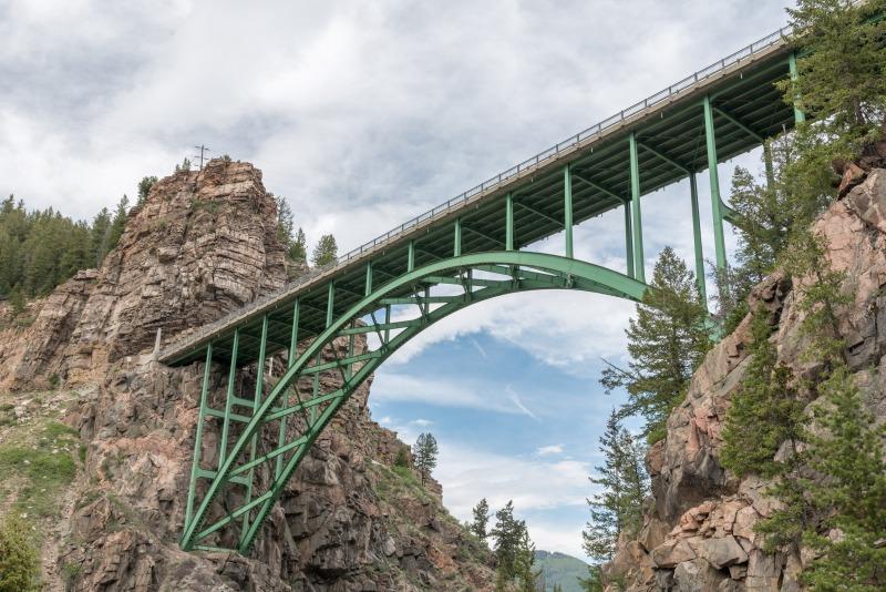 Colorado - Green Bridge in Red Cliff