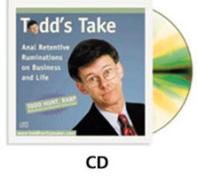 Todd's Take Audio CD photo