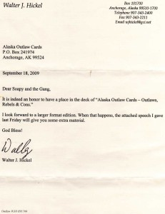hickel letter