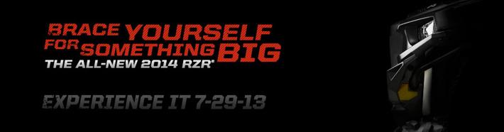 2014 Polaris RZR Is Coming…