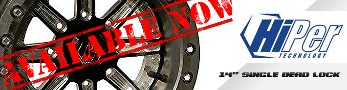 Hiper 14″ Single Beadlock Wheel