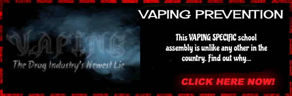 speaker for vaping assemblies
