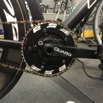 Add a Quarq powermeter to your track bike?  Yes you can.