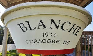 Stern of The Blanche