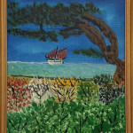 Springers Point Painting by Charlie Ahman