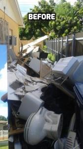 Side Patio Miami Junk Removal