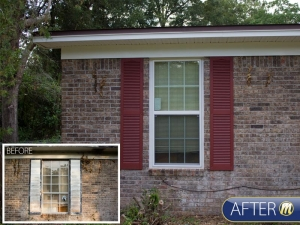 Window before-after