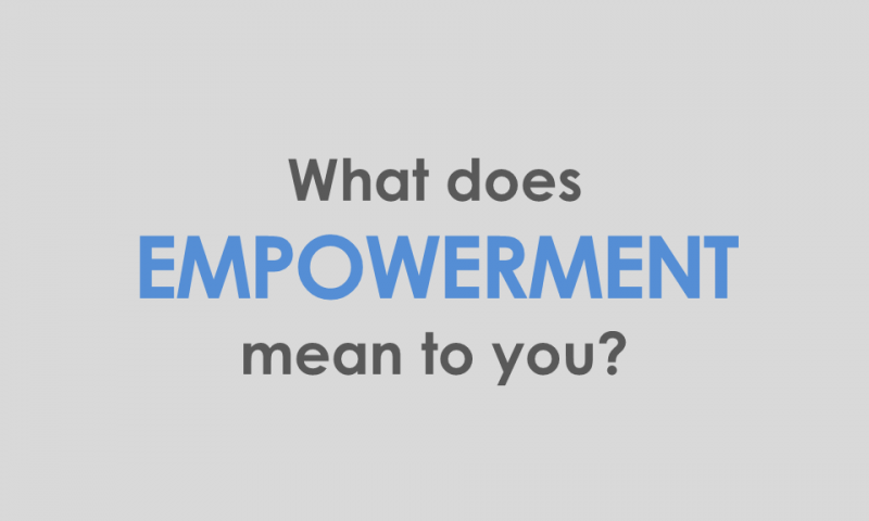 Empowering People – Share Your Voice