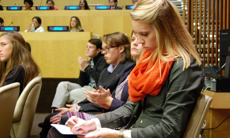 Youth-Led Briefing: Targeting Poverty and Education for Peace