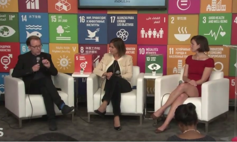 """Communicating the 2030 Agenda-Launch of """"Targets for Action"""", SDG Media Zone"""