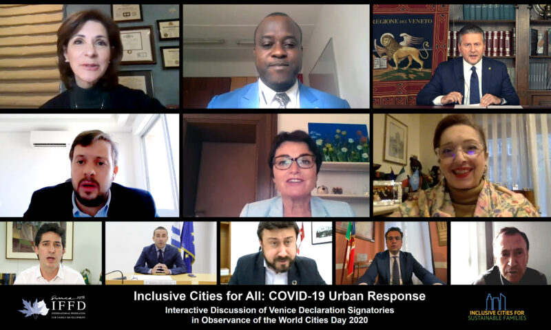 Inclusive Cities for All: COVID-19 Urban Response