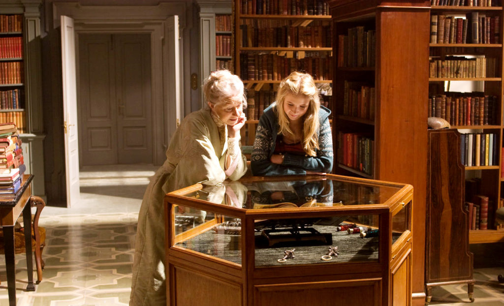 Aunt Elinor's Library from Inkheart