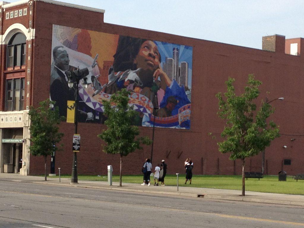 Wayne State Mural