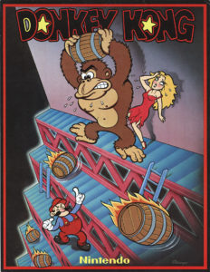 donkey kong game graphic