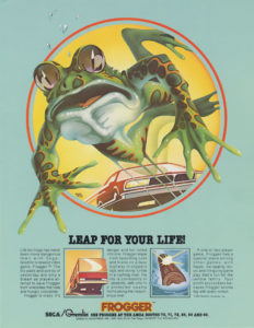 frogger game graphic