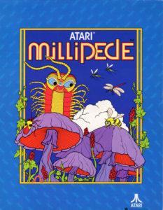 millipede game graphic