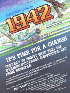 1942-arcade-flyer game graphic
