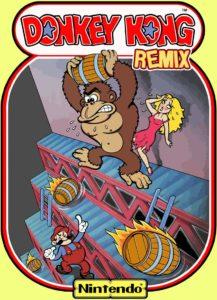 donkey_kong_remix game graphic