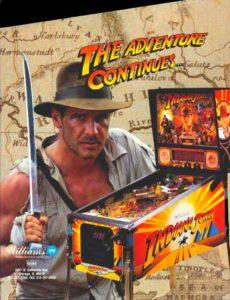 Indiana Jones pinball