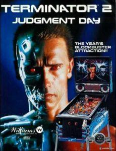 Terminator 2 pinball