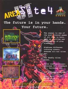 Area Site 4: Area 51 and Maximum Force