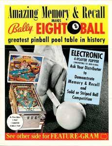 Eight Ball Deluxe pinball