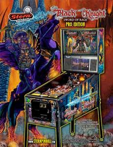 Black Knight: Sword of Rage (Pro) pinball