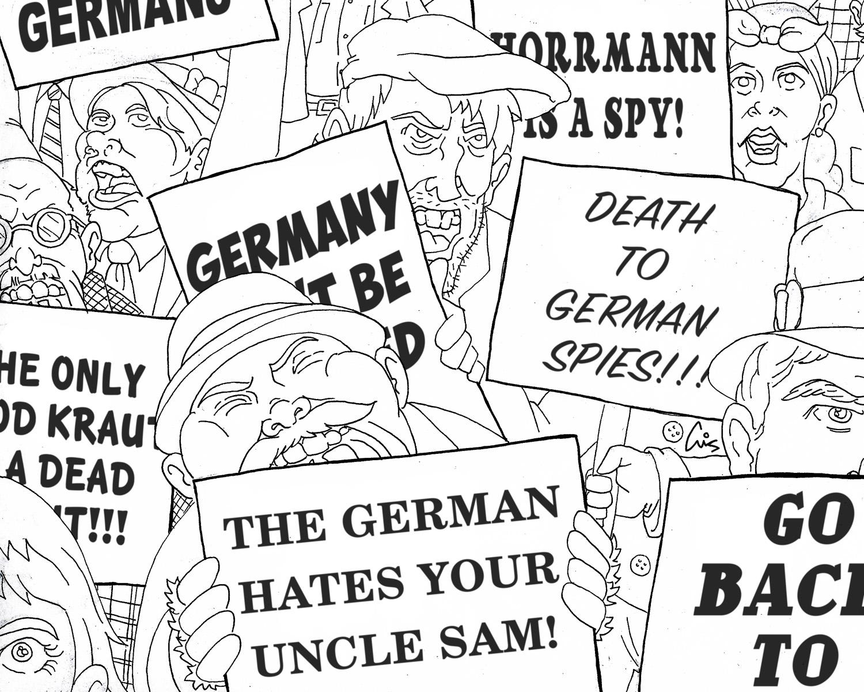 Death to German Spies
