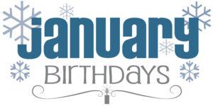 First Presbyterian Church Ionia January Birthdays
