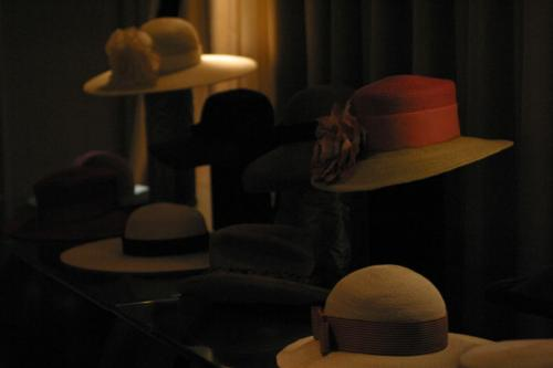 Accessories Showcase - Design-Collective-New-York-Runway-Show Vogue Seat - Hudson Hotel NYC