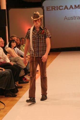 Ericaamerica - Menswear brand - Design Collective NY - Runway -SoHo NYC