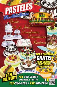Especiales - El Oaxaqueno Restaurant