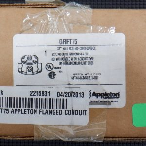 APPLETON GRFT75 3/4″ Explosion Proof Conduit Box