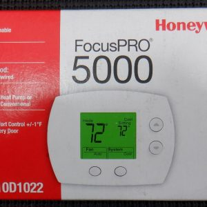 Honeywell TH5110D1022 FocusPro 5000 Non-Programmable Thermostat