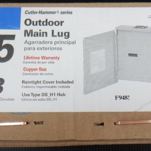 Cutler Hammer CH4L125RP Outdoor Main Lug Loadcenter 125A 120/240V 4/8 Space