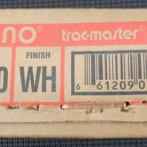 Juno Trackmaster T480 WH Halogen Track Light Fixture 75W MR16 Low Voltage