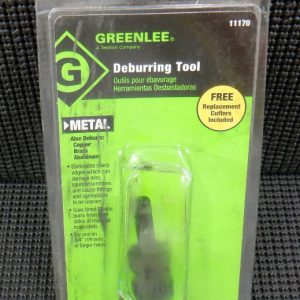 Greenlee 11170 Deburring Tool For Copper, Brass, Aluminum