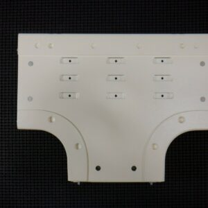 Hubbell 4015DFOIV Surface Metal Raceway Fitting LR Tee 4000 Series Ivory