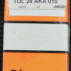 ATC TDL-24-AKA-010 Time Delay 10 – 100 Relay Flasher 24V 10A New