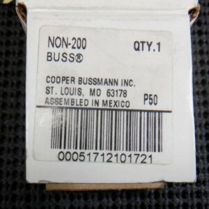 Buss NON-200 200A 250V Class H One-Time Fuse
