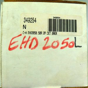 CUTLER HAMMER EHD2050L 2P 50A 480V Circuit Breaker Lugs Line & Load NEW