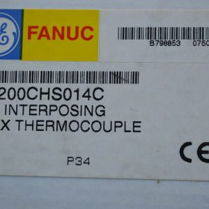 GE Fanuc IC200CHS014C I/O INTERPOSING BOX THERMOCOUPLE B7988530750 New