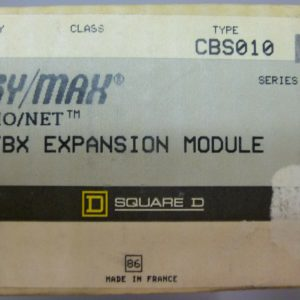Square D CBS010 HA Sy/Max SYMAX IO/NET TBX Expansion Module Ser A1 NEW